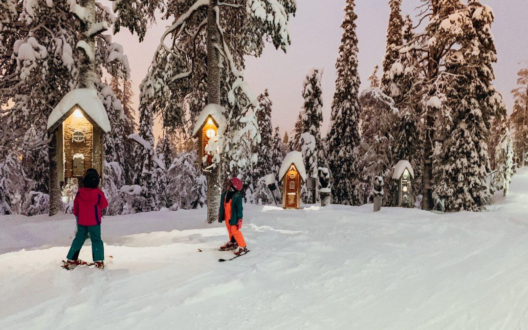 Family Ski Holiday in Ruka, Lapland, Finland