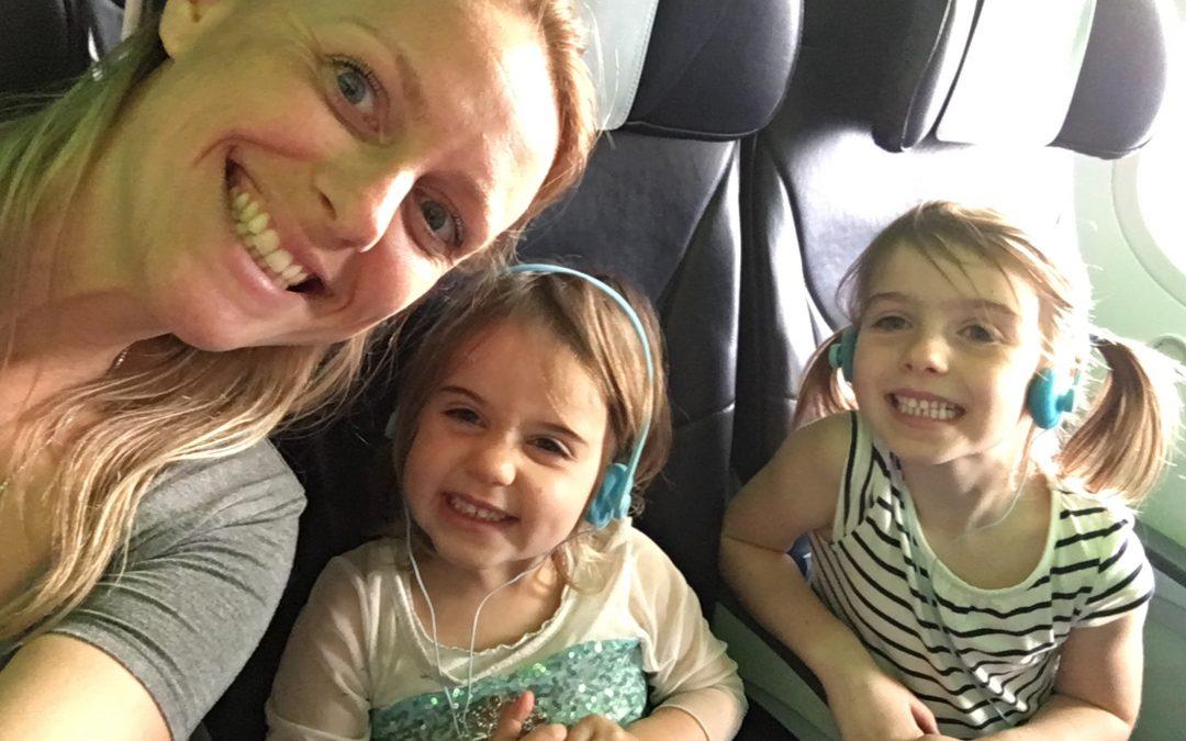 Beat jet lag with kids