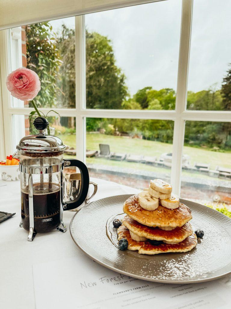 Breakfast in The Dining Room, Chewton Glen