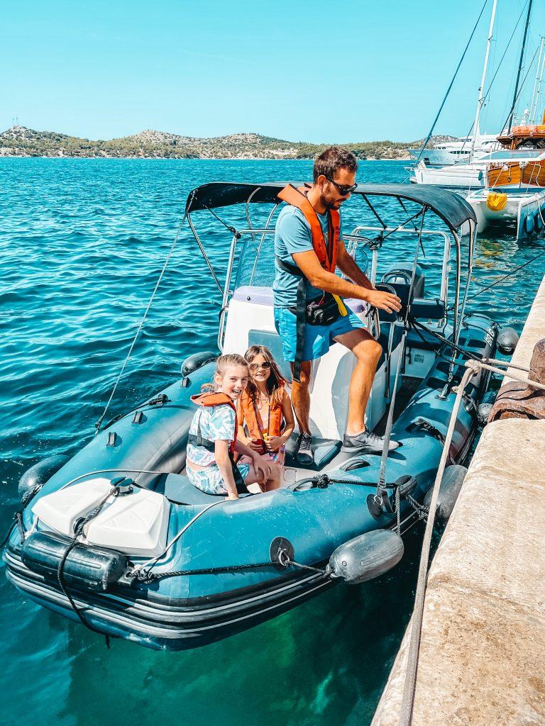 Sibenik Boat tour croatia
