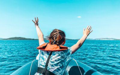 Šibenik Boat Tour: Croatia island hopping with kids